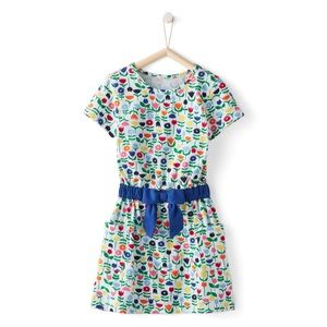 Hanna Andersson   Floral take a bow dress